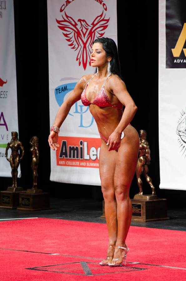 Stage photos,NPC Figure contest,2016