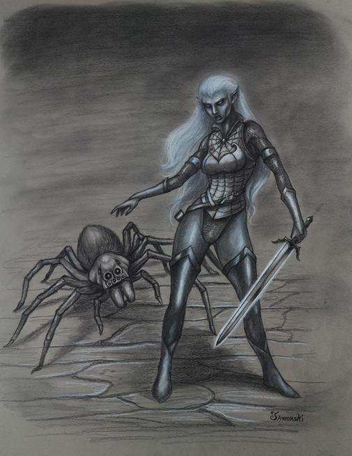 Jezzana and Her Pet