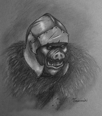 Gherzag Orc Raider