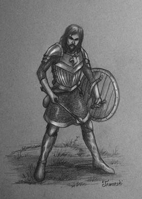Skalald Cleric of Bahamut