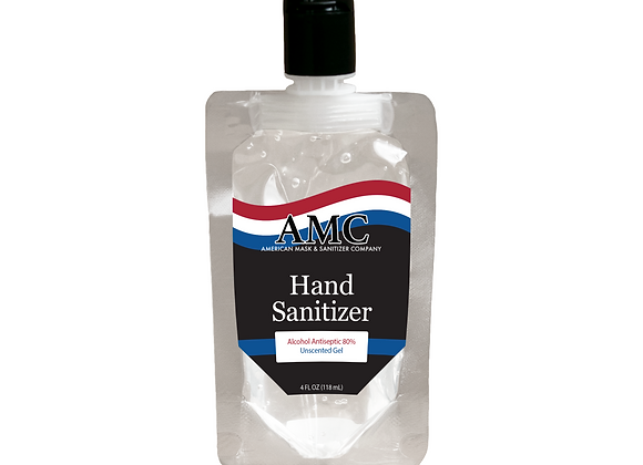 American Made Sanitizer - 4 oz Pouch