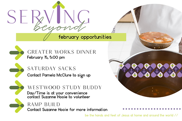 Serving Beyond opportunities-February.pn