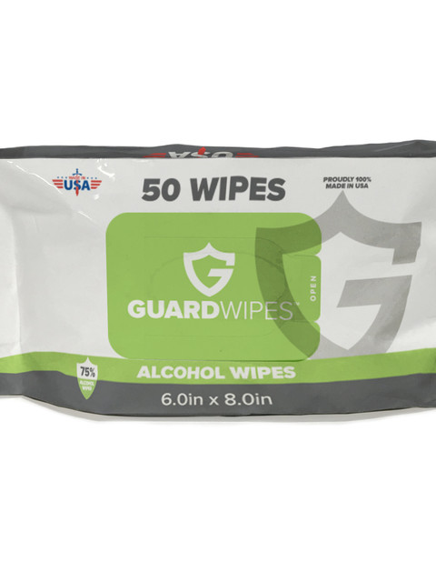 Guardsman Guardwipes 4 Pack