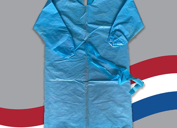 Blue Isolation Gown Packs