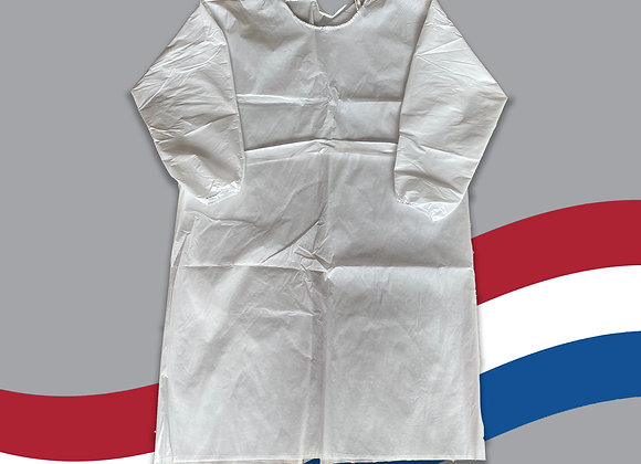 White Isolation Gown Pack