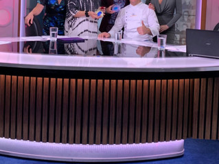 Daniele Barresi at Studio 10 on Channel10
