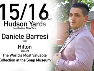 15/16 Oct the World's Most Valuable Collection with Daniele Barresi and Hilton