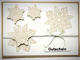 """Gutschein """"Winterzauber"""""""