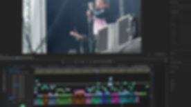 a video editing scene editing tramlines video