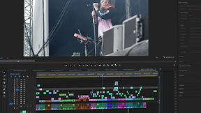 a video editing scene editing tramlines video