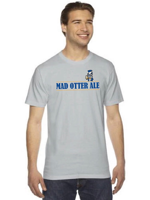 Grey Mad Otter Ale Shirt
