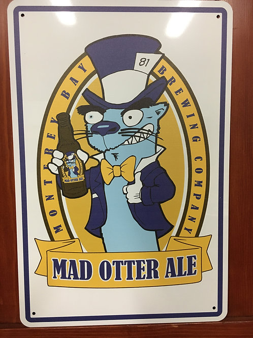 Mad Otter Sign