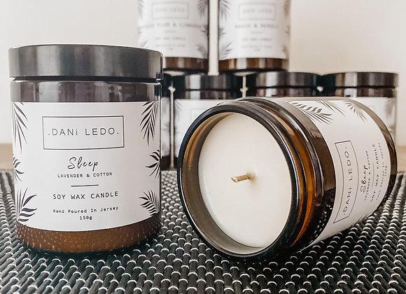 Dani Ledo - Sleep Soy Wax Candle