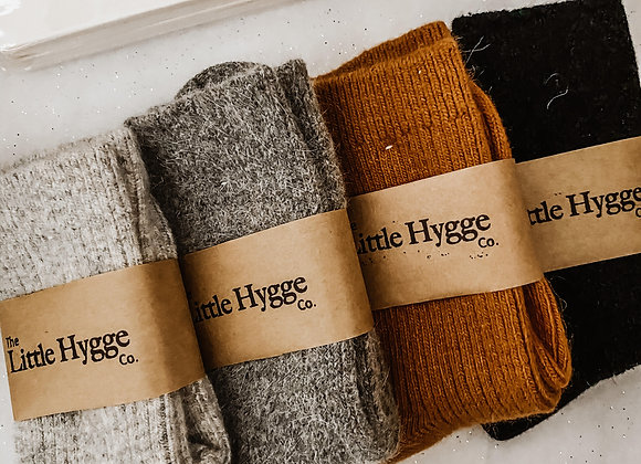 Luxurious Cashmere/Wool Cosy Socks