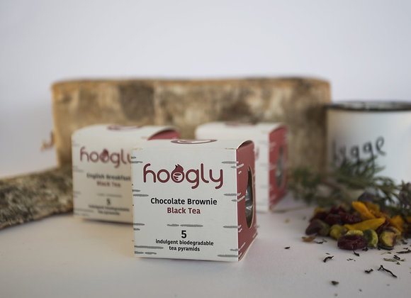 Hoogly Teapods - Chocolate Brownie Black Tea