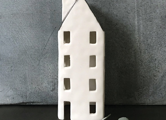 Porcelain Tealight House No87