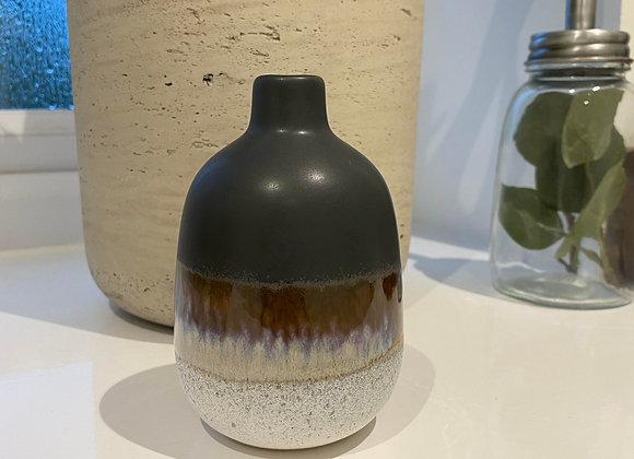 Black Ombre Small Vase
