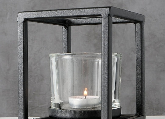Cube Candle Holder 14cm