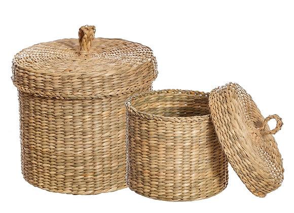 Seagrass Storage Pots