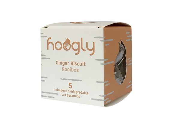 Hoogly Teapods - Ginger Biscuit