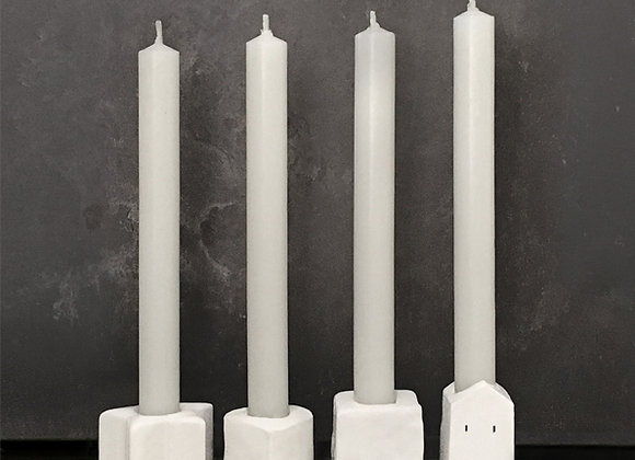 Candle with Miniature Holder