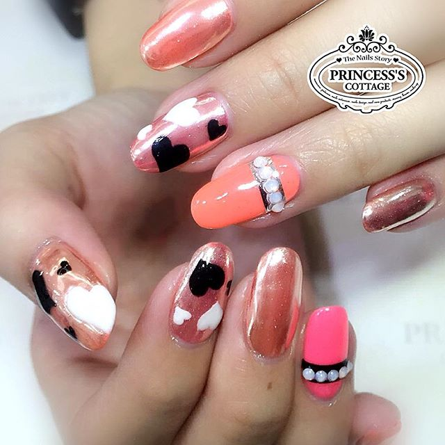 Rose pink chrome