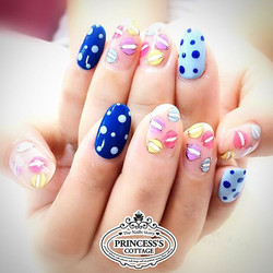 Some desserts for you_ 😋 【Nailarts done by Senior Nail artist Jane】 》》》More Info, check out our IG