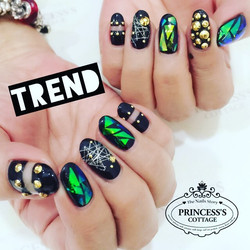 Be a Rock Star 🤘🏻 with your nails design, done by Joanna at The Seletar Mall. _Book your appointme