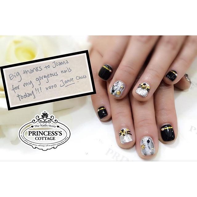 Designed for Jamie Chua _ec24m by our Nail Director Joanna