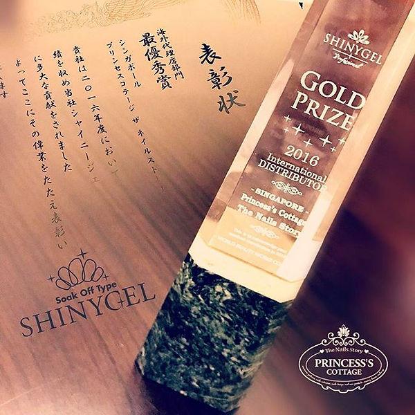 Shinygel Gold Distributor