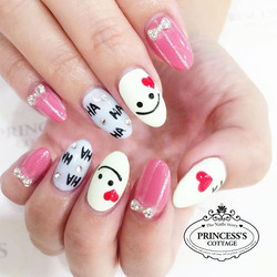 Hahaha 😊 Are you happy_ Nails done by Joanna at The Seletar Mall. _Book your appointment Online _ww