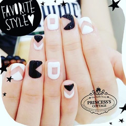 Is this your favorite style_ Minimal Nails done by Qing at The Seletar Mall. _Book your appointment