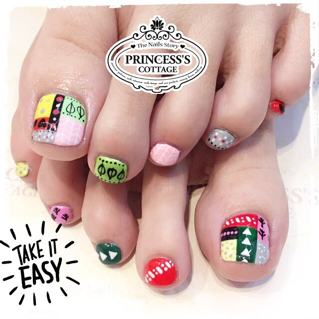 Patch works, done by Janice at The Seletar Mall. _Book your appointment Online _www.princeSSScottage