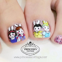 Easter Day party. Drawn by Qing at The Seletar Mall. _Book your appointment Online _www.princeSSScot
