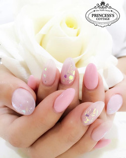 I believe in Pink and I'm sure most women do! 💖 【Nails Extensions and design by Nail Director Joann