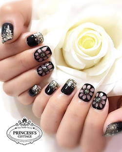 ▪️Addicted to Black▪️【Done by Senior Nail Artist Jane】_》》》More info, check out our IG profile _For u