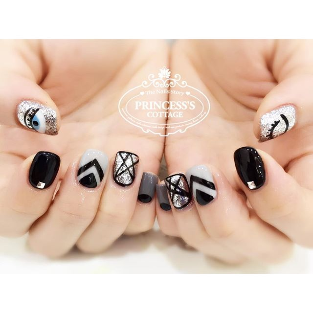 Promotional nailart sets available at both outlets, you can choose from $25, $35 or $45