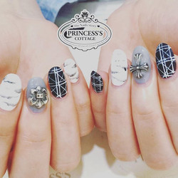 Chrome hearts~design provided by customer. Done by Joanna at The Seletar Mall