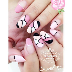 Pastel pink combi, done by Joanna at The Seletar Mall. _Book your appointment Online _www.princeSSSc