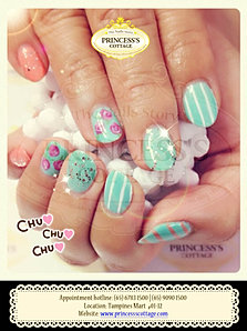 Princesss cottage the nails story love them pctns xmas manicure gelish nailart snowflakes blue rose prinsesfo Images