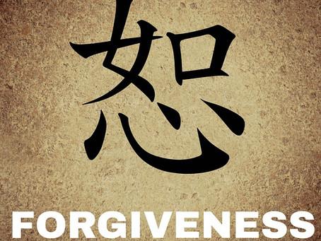 Over vergeven en diep oogcontact
