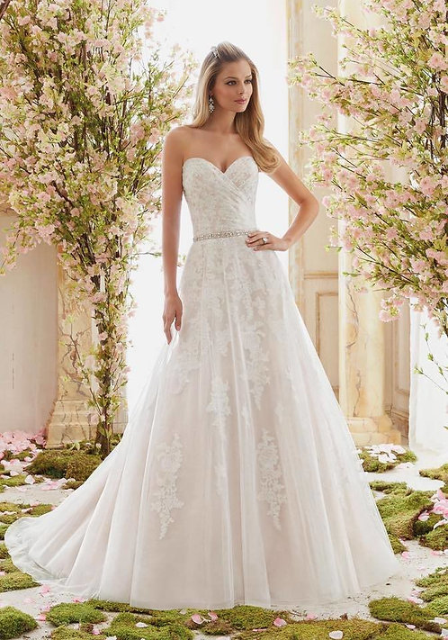 Mori Lee Madeline Gardner '6854' Wedding dress