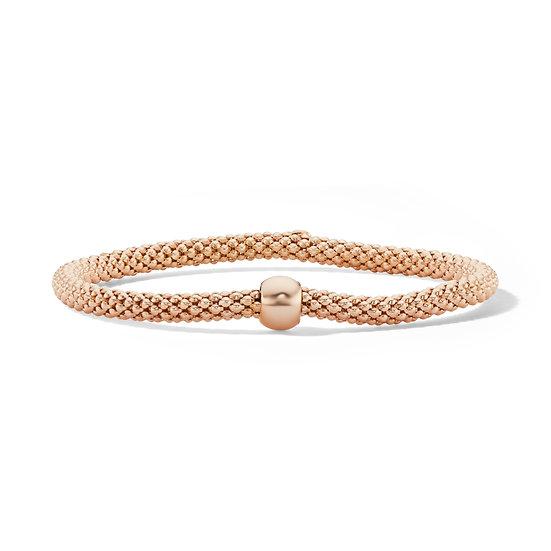 Rose Gold Plated Stretch Bracelet