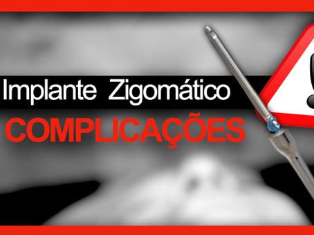 Implante Zigomático Complicações & Problemas