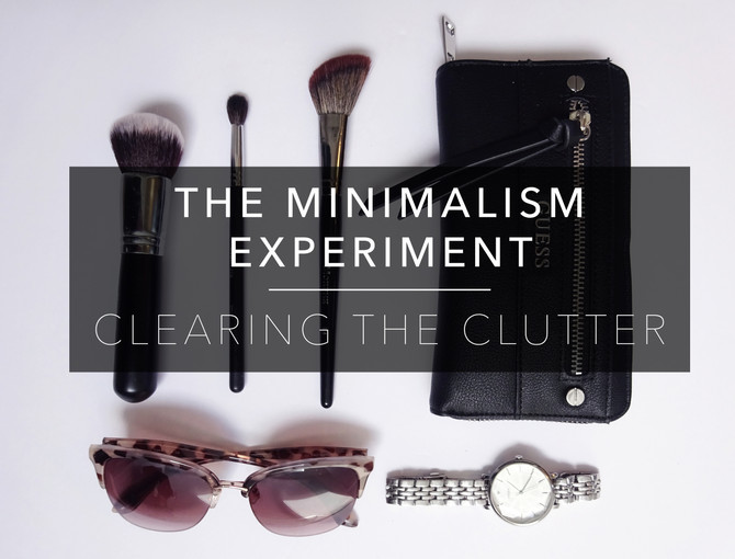 The Minimalism Experiment W2 : Clearing the Clutter