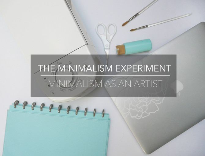 The Minimalism Experiment W6: Minimalism as an Artist