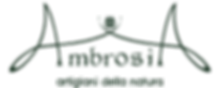 Logo Ambrosia conserve. Artigiani della natura.