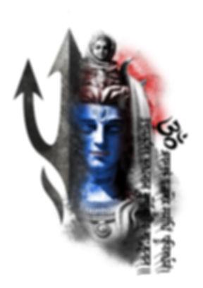 Shiva tattoo design