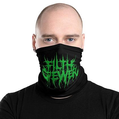 Filth Spewer Green and Black Neck Gaiter