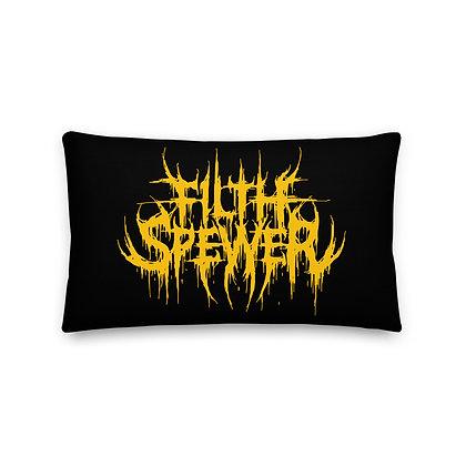 Filth Spewer Yellow Premium Pillow